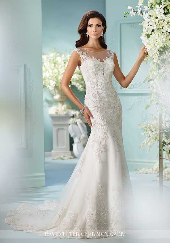 David Tutera for Mon Cheri 216235 Cersira Mermaid Wedding Dress
