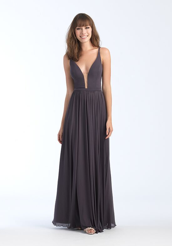 Allure Bridesmaids 1557 V-Neck Bridesmaid Dress