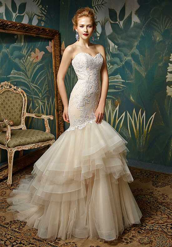 Blue by Enzoani Jules Mermaid Wedding Dress