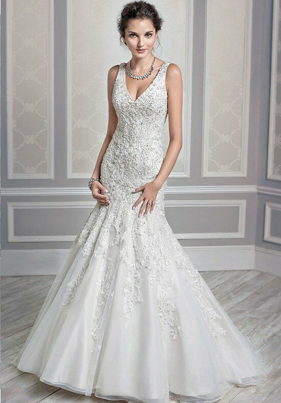 Kenneth Winston 1590 Mermaid Wedding Dress