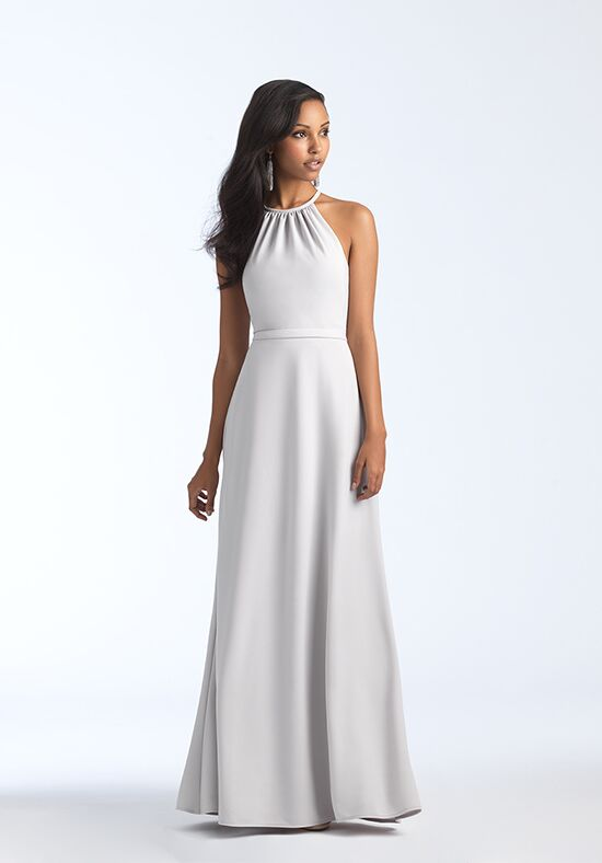 Allure Bridesmaids 1570 Bateau Bridesmaid Dress