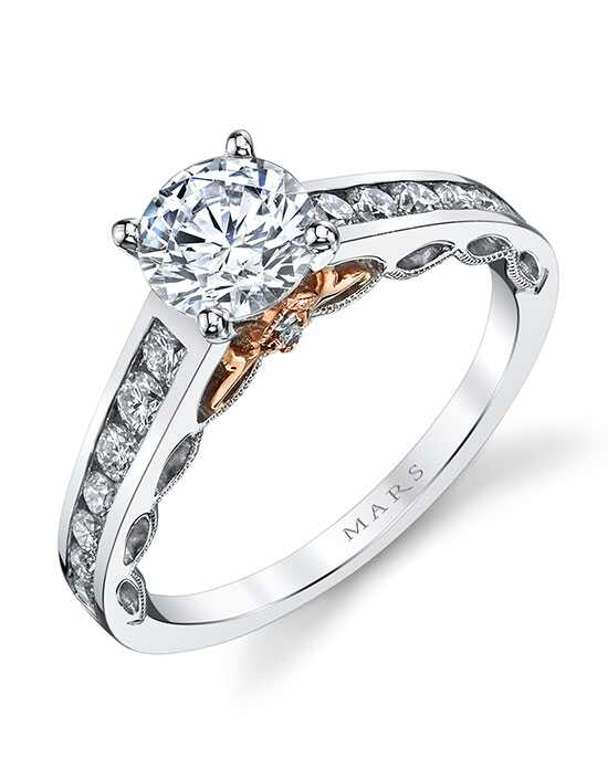 mars fine jewelry mars jewelry 25836 engagement ring - Wedding Ringscom
