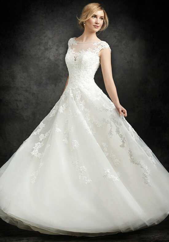 Ella Rosa BE250 A-Line Wedding Dress