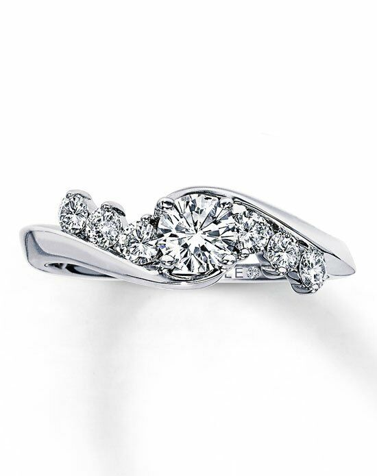 The Leo Diamond Diamond Engagement Ring 34 ct tw RoundCut 14K