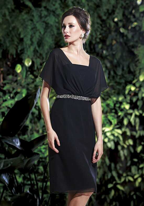 Jasmine Black Label M160012 Black Mother Of The Bride Dress