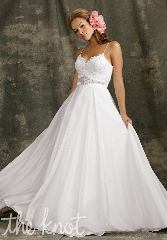 Reflections By Jordan M984 A Line Wedding Dress