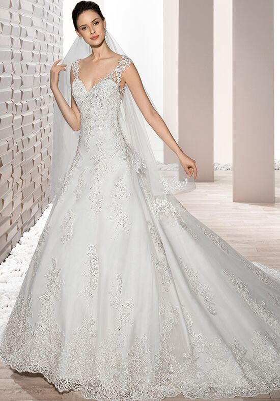 Demetrios 731 A-Line Wedding Dress