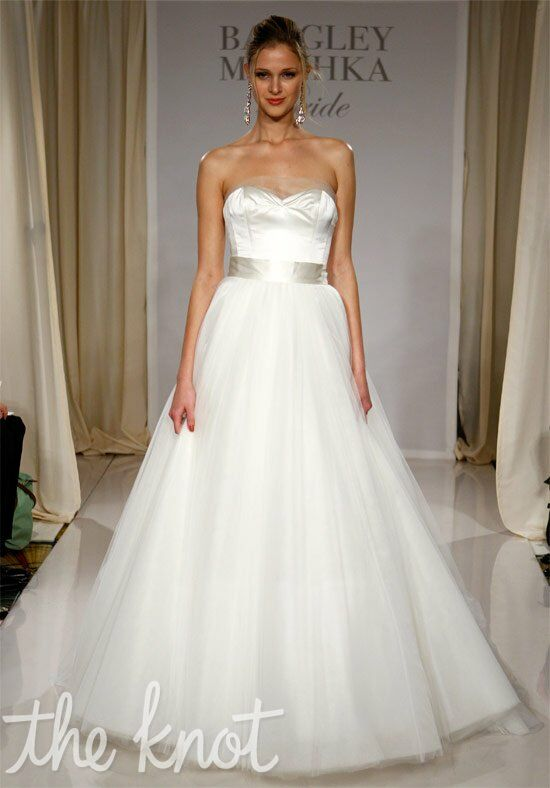 Badgley Mischka Bride Mallory Ball Gown Wedding Dress