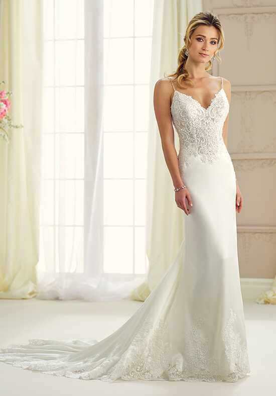Enchanting by Mon Cheri 217123 Sheath Wedding Dress