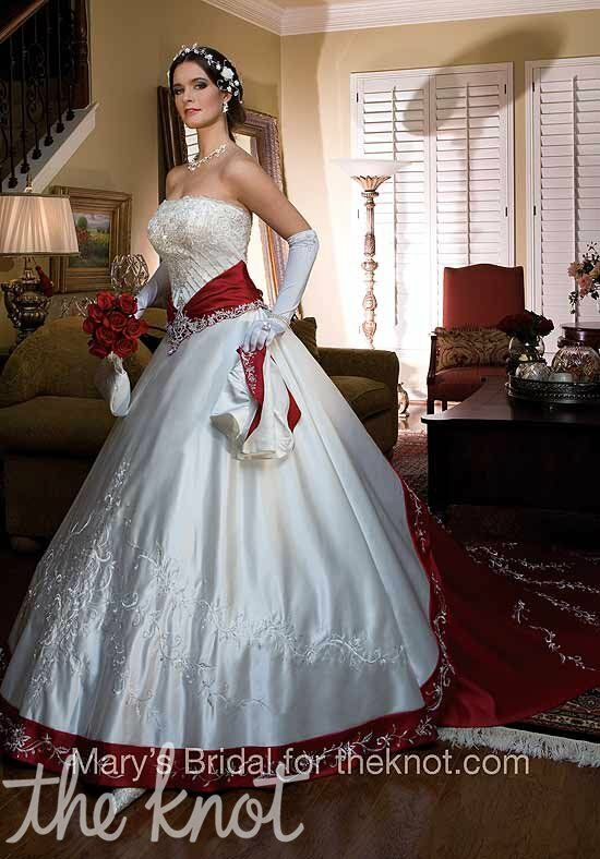 Attractive Mary Wedding Dress Embellishment - Womens Dresses & Gowns ...