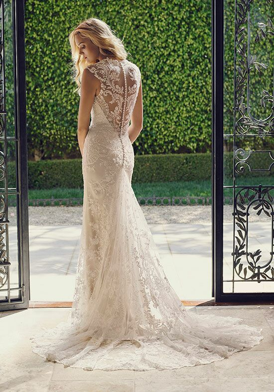 Casablanca bridal 2232 tulip wedding dress the knot for Tulip wedding dress style