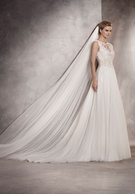 PRONOVIAS ATLANTIS Sheath Wedding Dress