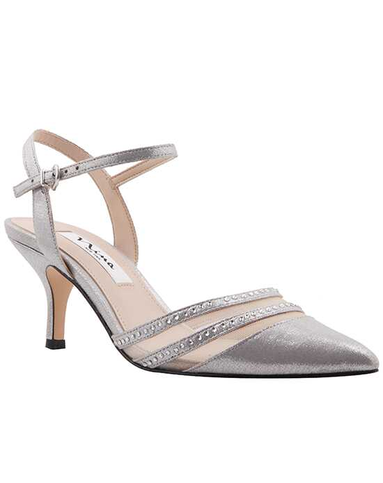 Nina Bridal Wedding Accessories Belicia_Silver Silver Shoe