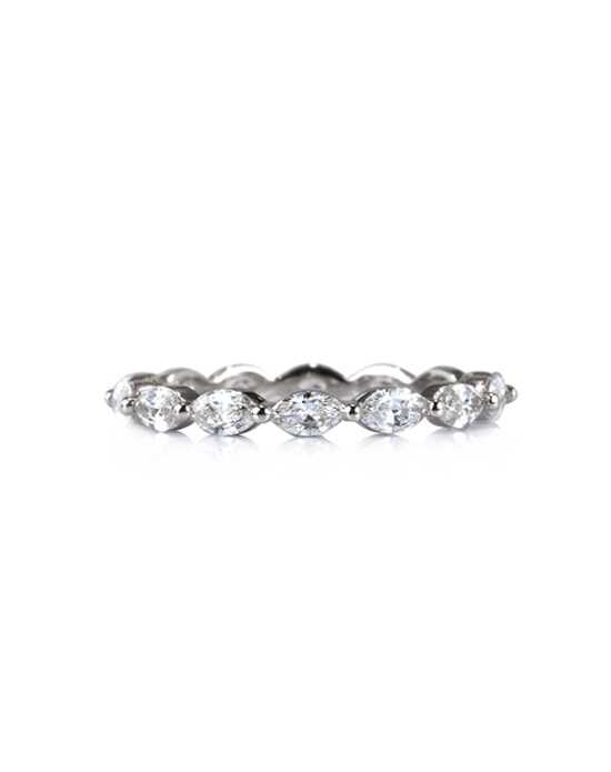 Mark Broumand 1.00ct Marquise Cut Diamond Eternity Band in Platinum Item #4110-1 Platinum Wedding Ring