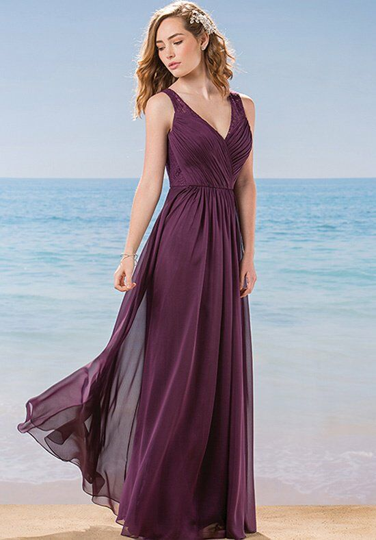 Belsoie L184016 V-Neck Bridesmaid Dress