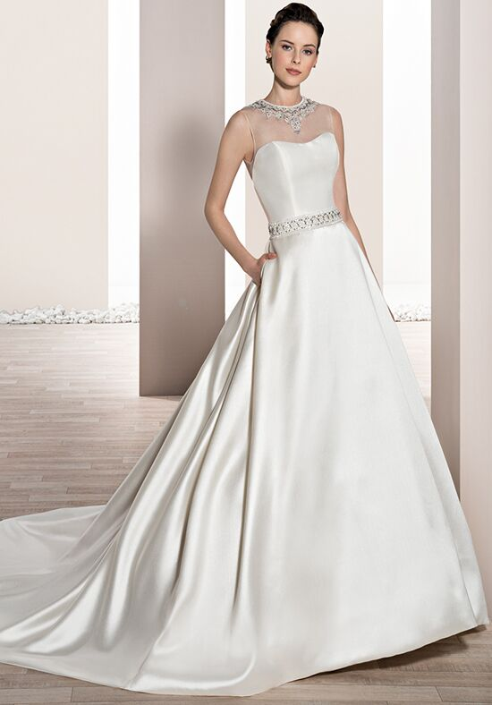 Demetrios 691 A-Line Wedding Dress