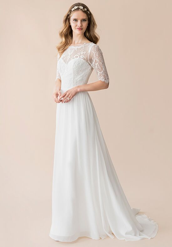 Moonlight Tango T802 A-Line Wedding Dress