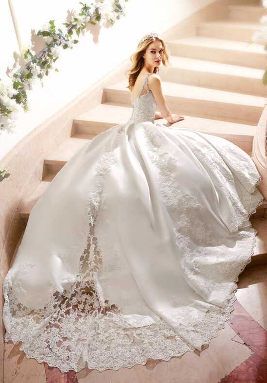 Moonlight Couture H1316 Ball Gown Wedding Dress