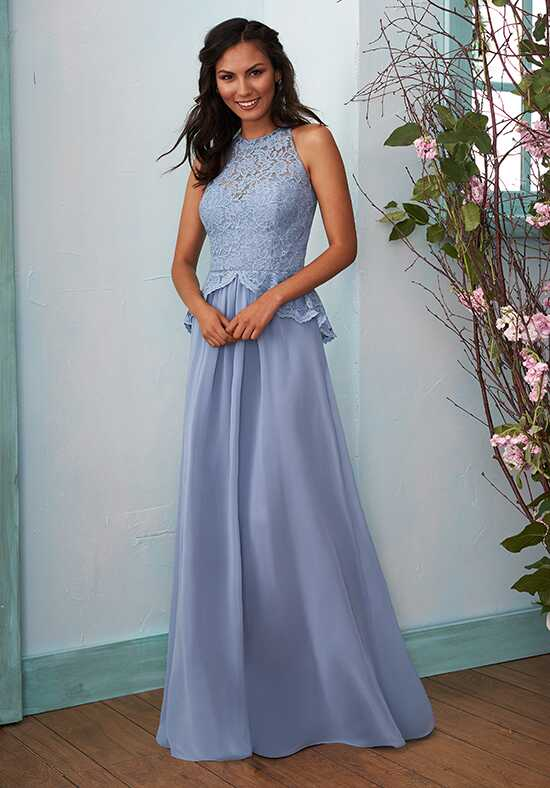 B2 by Jasmine B203010 Halter Bridesmaid Dress