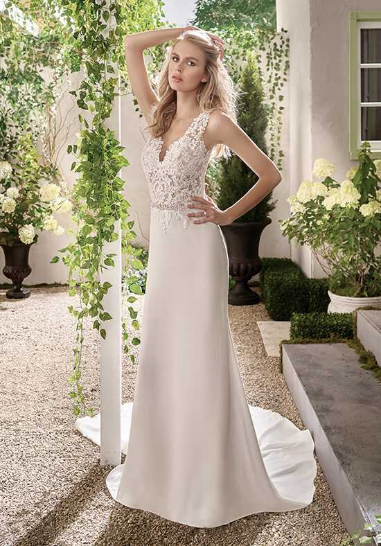 Jasmine Collection F191003 Sheath Wedding Dress