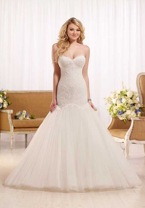Essense of Australia D2130 Mermaid Wedding Dress
