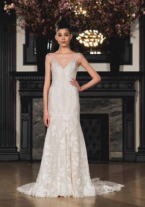 Ines Di Santo Anna Mermaid Wedding Dress