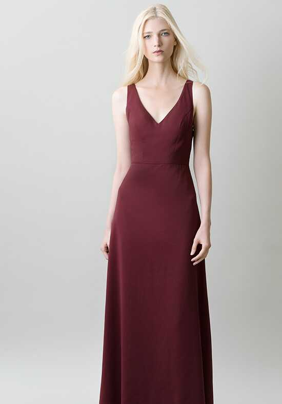 Jenny Yoo Collection (Maids) Delaney #1711 V-Neck Bridesmaid Dress