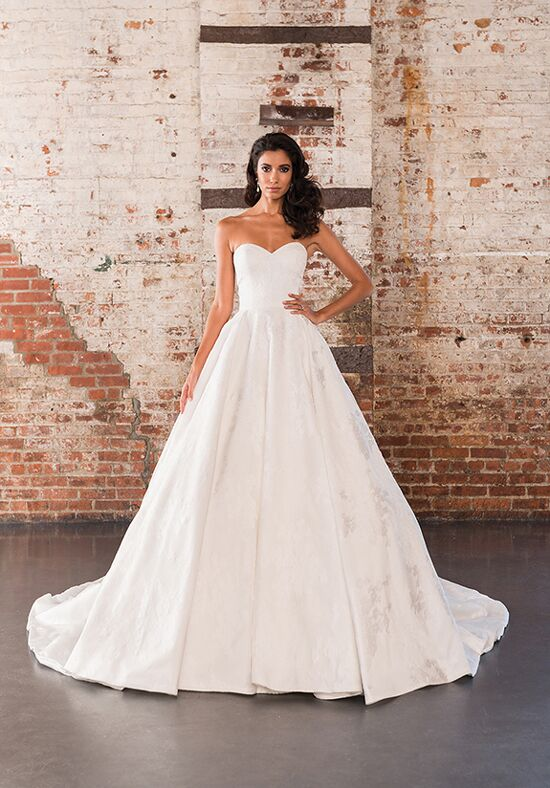 Justin Alexander Signature 9858 Ball Gown Wedding Dress