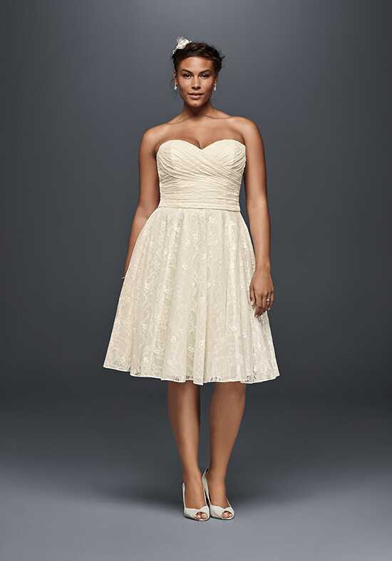 David's Bridal Galina Style 9WG3826 A-Line Wedding Dress