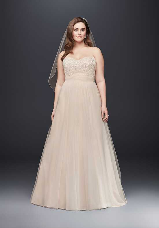 David's Bridal David's Bridal Collection Style 9WG3586 A-Line Wedding Dress