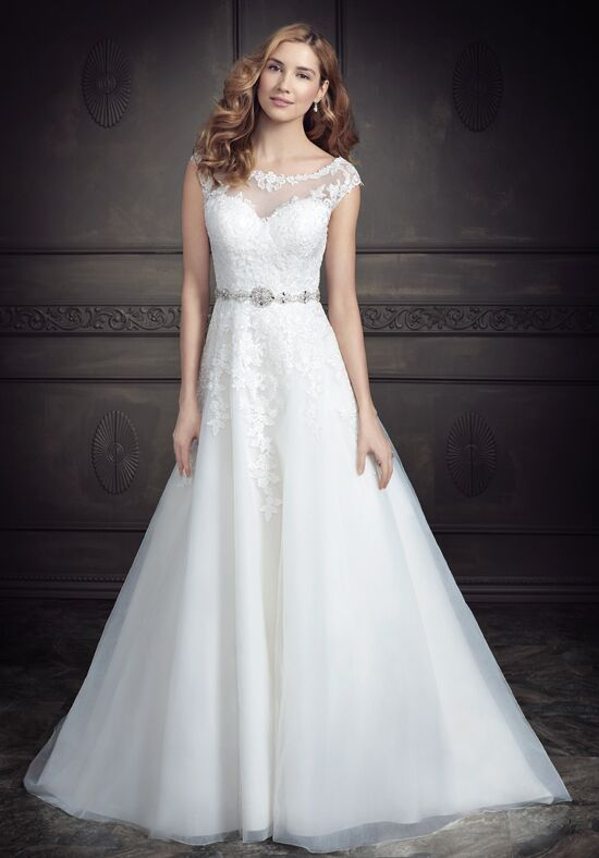 Kenneth Winston: Ella Rosa Collection BE343 A-Line Wedding Dress