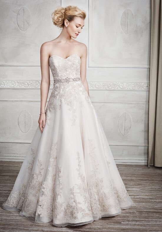 Kenneth Winston 1669 A-Line Wedding Dress
