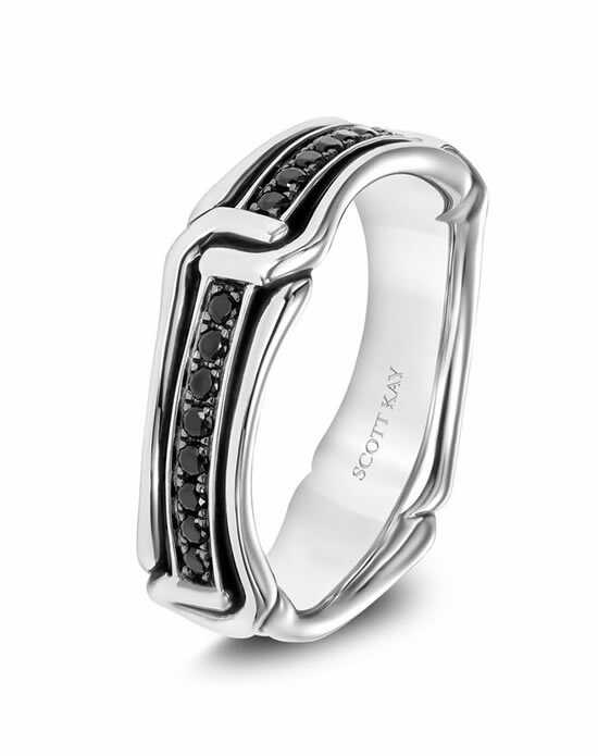 Scott Kay G4094RBBV6 Platinum Wedding Ring