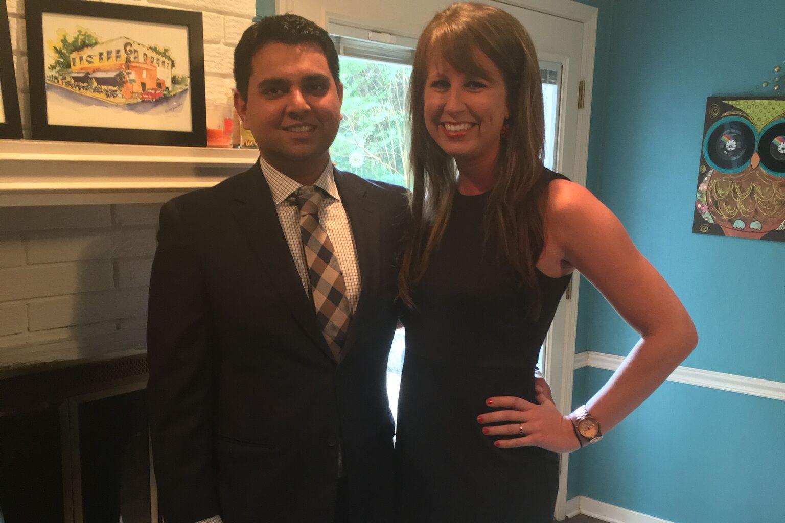Rachel Riley And Sukhpreet Multanis Wedding Website