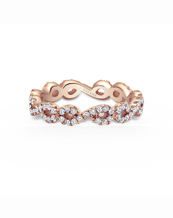Kirk Kara Pirouetta Collection K182R-BE Rose Gold Wedding Ring