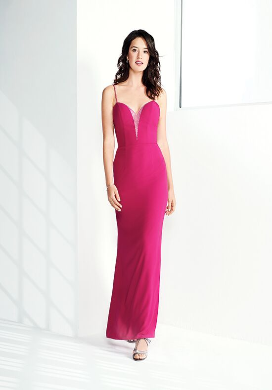 Colour by Kenneth Winston 5273L V-Neck Bridesmaid Dress