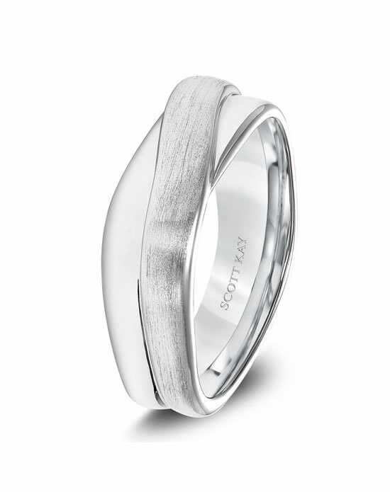 Scott Kay G4048C8 Platinum Wedding Ring