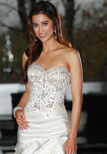 DaVinci Bridal 50217 A-Line Wedding Dress