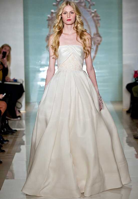 Reem Acra Divine Girl Ball Gown Wedding Dress