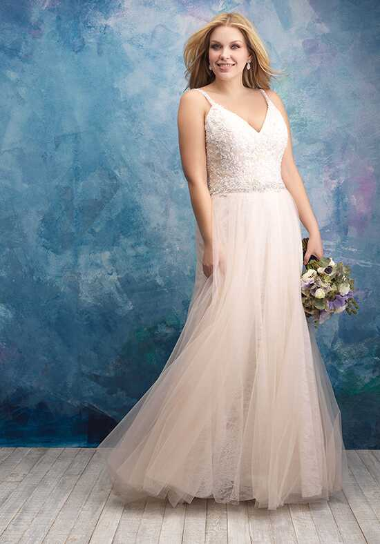 Allure Women W432 A-Line Wedding Dress