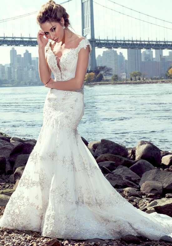 Stephen Yearick KSY85 Mermaid Wedding Dress