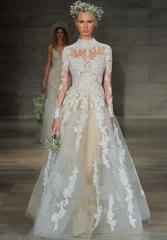 Reem Acra Adore Ball Gown Wedding Dress