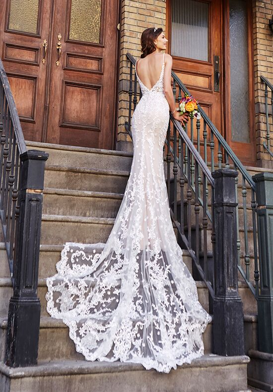 KITTYCHEN TAYLOR, H1846 Sheath Wedding Dress