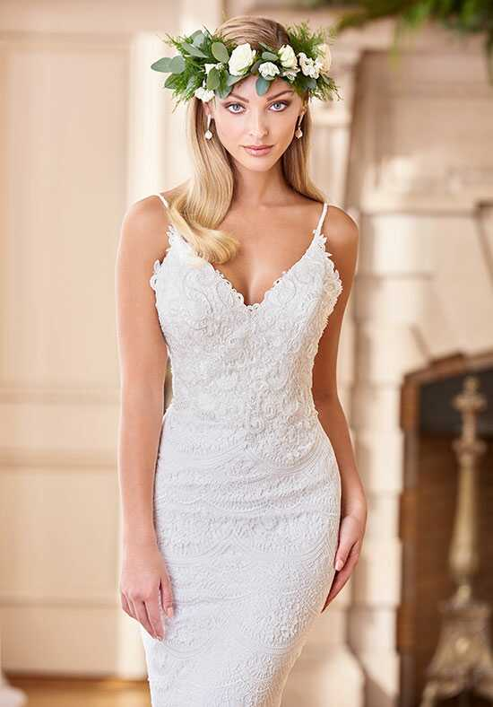 Enchanting by Mon Cheri 218166 Sheath Wedding Dress