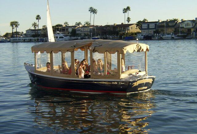 Duffy Boat Ride Long Beach Ca