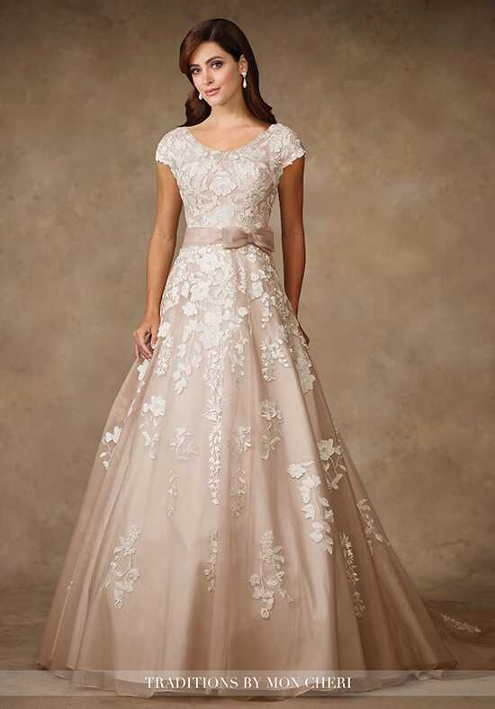 Modest by Mon Cheri TR11707 A-Line Wedding Dress