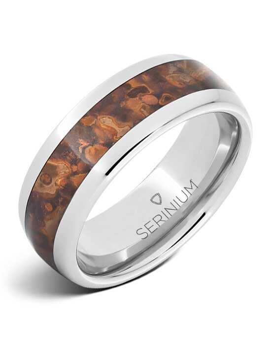 Serinium® Collection Minoan Palace – Royal Copper™ Serinium® Inlay Ring-RMSA002287 Serinium® Wedding Ring