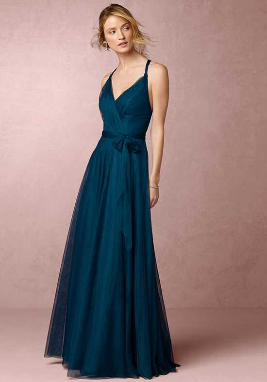 BHLDN (Bridesmaids) Zaria-Blue Bridesmaid Dress photo