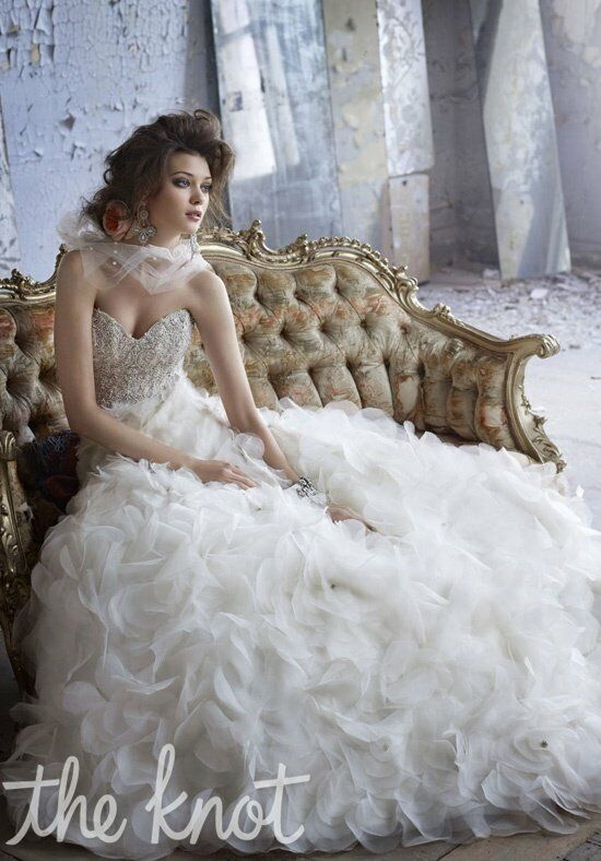Lazaro 3161 A-Line Wedding Dress