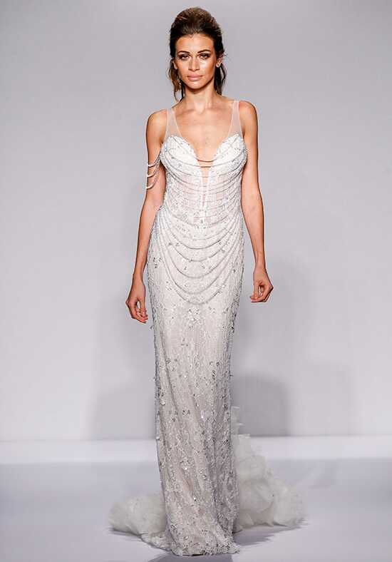 Pnina Tornai for Kleinfeld 4448 Sheath Wedding Dress
